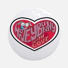 Honey Bunny Ornament (Round)