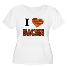 I love Bacon! Plus Size T-Shirt