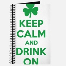 Keep Calm and Drink On. Journal