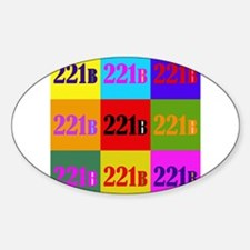 Colorful 221B Decal