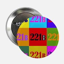 "Colorful 221B 2.25"" Button"