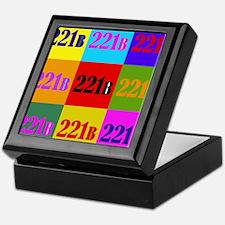 Colorful 221B Keepsake Box