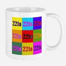 Colorful 221B Mug