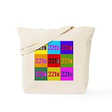 Colorful 221B Tote Bag