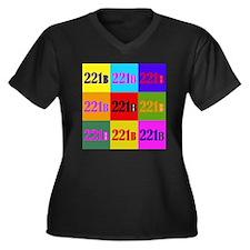 Colorful 221B Plus Size T-Shirt