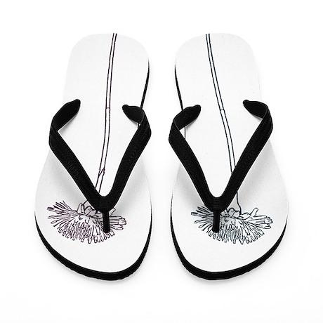 Dandelions Flip Flops