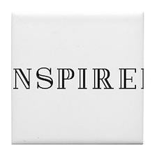 INSPIRED Tile Coaster