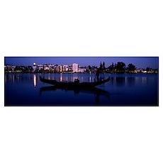 Lake Merritt, Oakland, Alameda County, California Poster