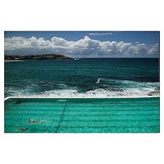 Bondi Icebergs Swimming Club, Bondi Beach, Sydney, Poster