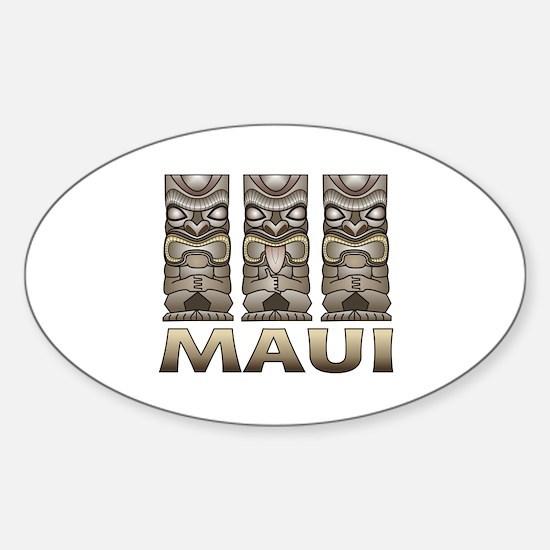 Maui TIKI Decal