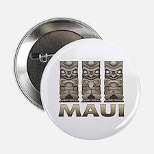 """Maui TIKI 2.25"""" Button"""