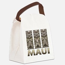 Maui TIKI Canvas Lunch Bag
