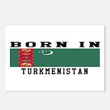 Born In Turkmenistan Postcards (Package of 8)
