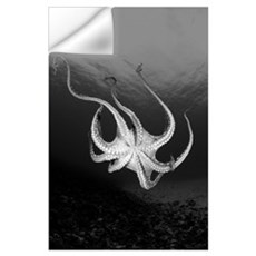 Hawaii, Underside Of Day Octopus (Octopus Cyanea) Wall Decal