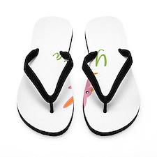 Easter Bunny Yesenia Flip Flops