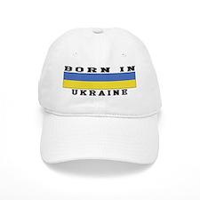 Born In Ukraine Baseball Cap