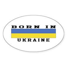 Born In Ukraine Decal