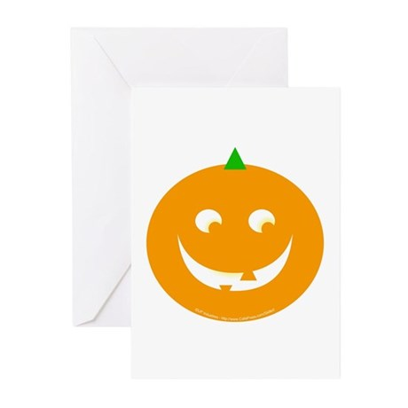 JackOLantern Greeting Cards (Pk of 10)