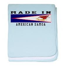 American Samoa Made In baby blanket