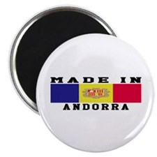 Andorra Made In Magnet