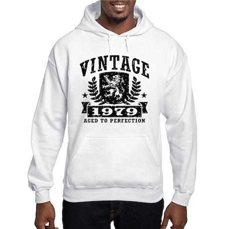 Vintage 1979 Hooded Sweatshirt
