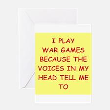 WAR Greeting Card