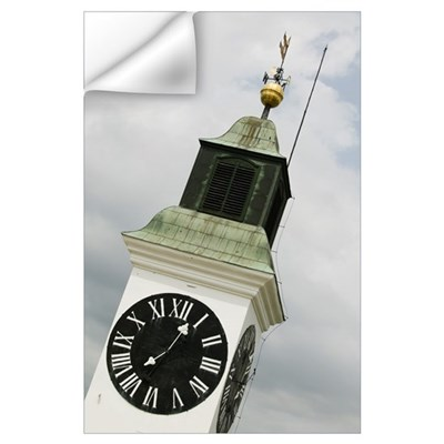 Low angle view of a clock tower, Petrovaradin Cita Wall Decal