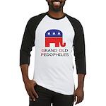 GOP: Grand Old Pedophiles  Baseball Jersey