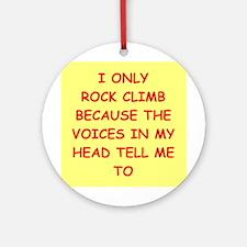 Rock (round) Round Ornament
