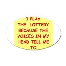 LOTTERY Wall Decal
