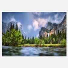 Merced River, Yosemite Valley, Yosemite National P