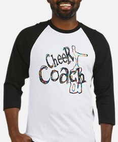 Cheer Coach 5 6 7 8 Baseball Jersey