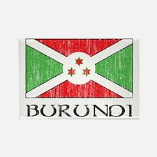 Burundi Flag Rectangle Magnet