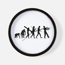 Zombie Evolution Wall Clock
