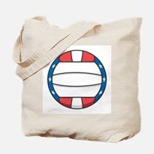 Stars and Stripes (USA) Volleyball Tote Bag