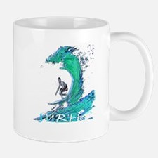 surfer art illustration Mug
