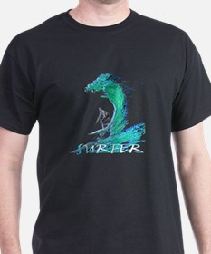 surfer art illustration T-Shirt