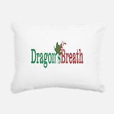 Dragons Breath 3 Rectangular Canvas Pillow