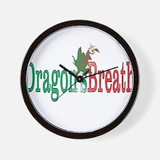 Dragons Breath 3 Wall Clock