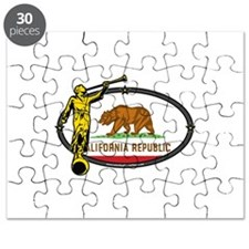 California Mission - California Flag - Angel Moron
