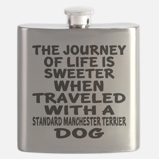 Traveled With Standard Manchester Terrier Do Flask