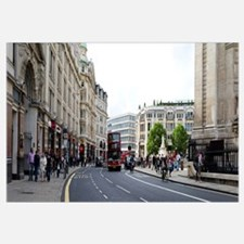 People walking along a road, City of Westminster,