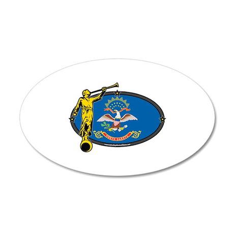 North Dakota Mission - North Dakota Flag - Angel W