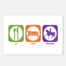 Eat Sleep Dressage Postcards (Package of 8)