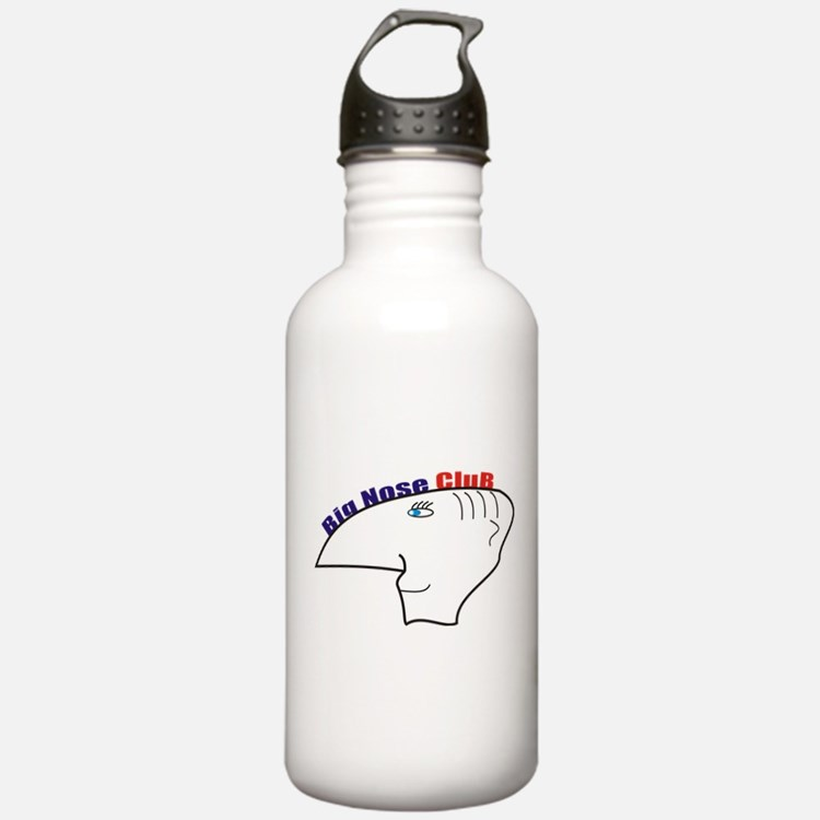 big nouse club Water Bottle