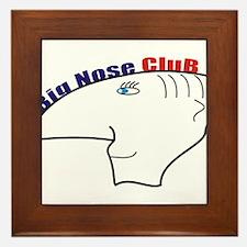 big nouse club Framed Tile