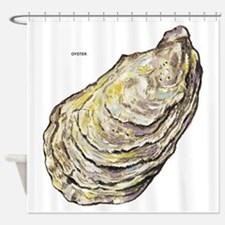 Oyster Sea Life Shower Curtain