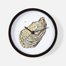 Oyster Sea Life Wall Clock