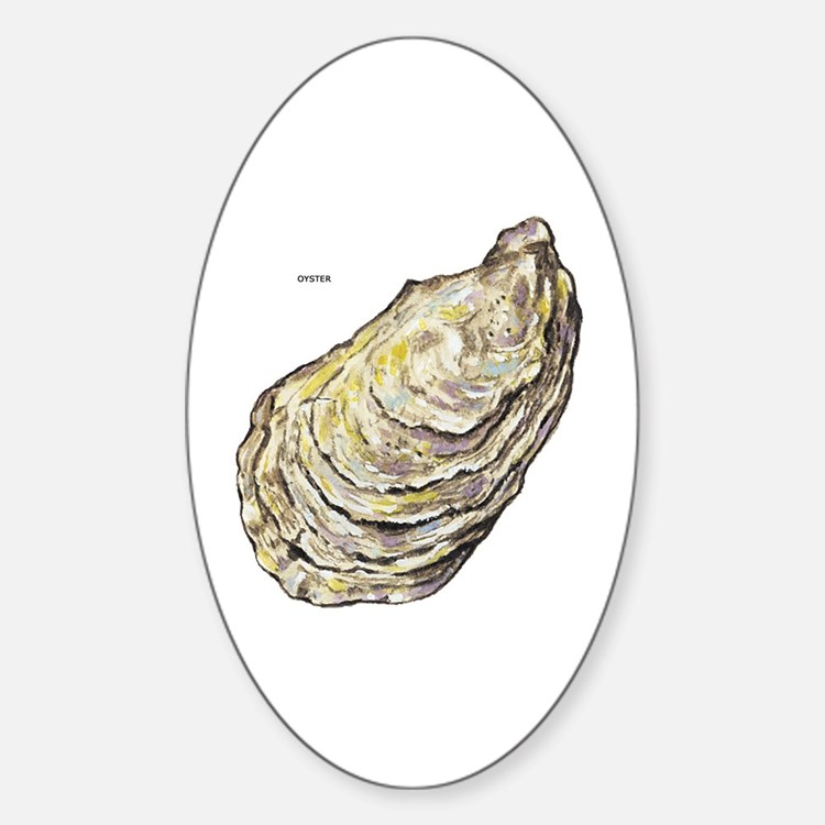 Oyster Sea Life Decal