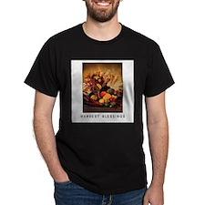 Harvest Blessings - Fall Corn - Thanksgiving T-Shirt